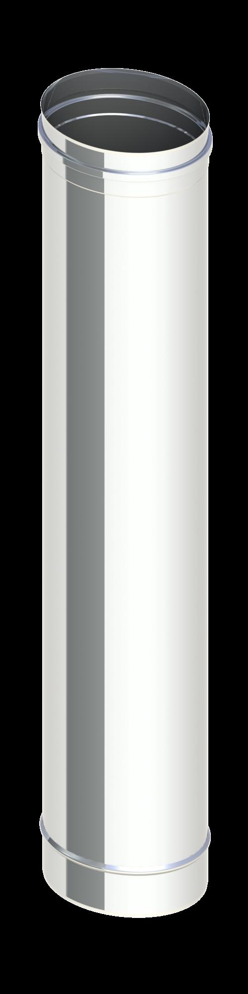 Ofenrohr oval 1 Mtr h =94 cm