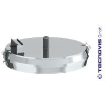 Russtopf/Verschlussdeckel mit Kondensatablauf 150 mm