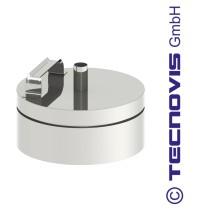Russtopf/Verschlussdeckel + Kondensatablauf 130 mm