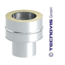 Kupplung EW-DW für 2 mm Stahlrohr (eingezogene Seite)