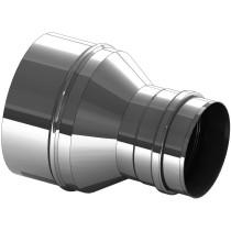 Erweiterung Edelstahl 130 auf 160 mm