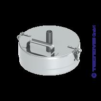 Verschlussdeckel+ Kondensatablauf 150 mm