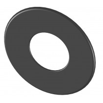 Wandrosette groß 85 mm
