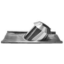 Dachdurchführung 45 - 60º Bleirand mit Wetterkragen